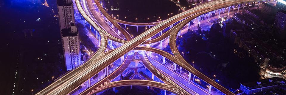 Aerial junction image